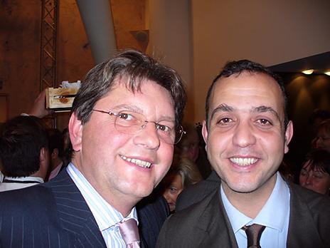 Jean-Pierre Van Gorp et Mohamed El Khattabi