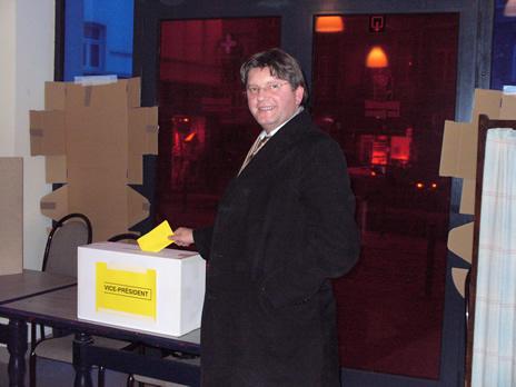 Schaerbeek Elections Vice-Président