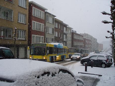 Schaerbeek neige en rue 2