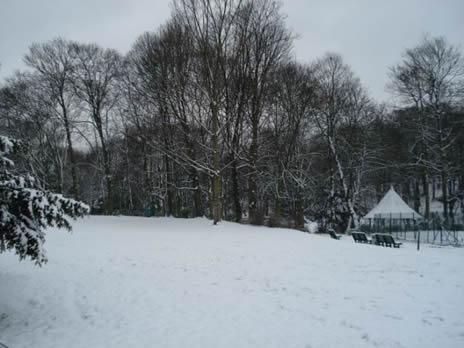 Schaerbeek Neige parc 3