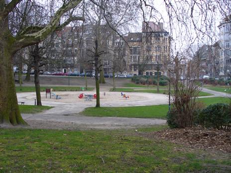Schaerbeek Parc Huart Hamoir
