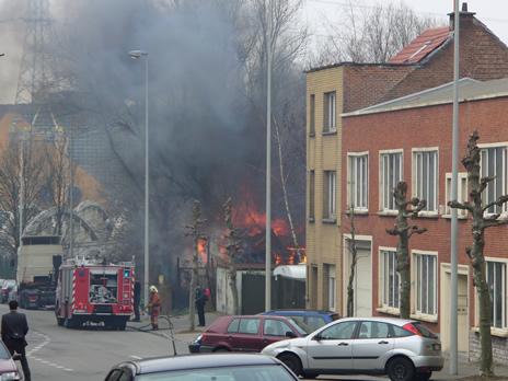 Schaerbeek feu 1