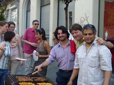 Schaerbeek barbecue 1